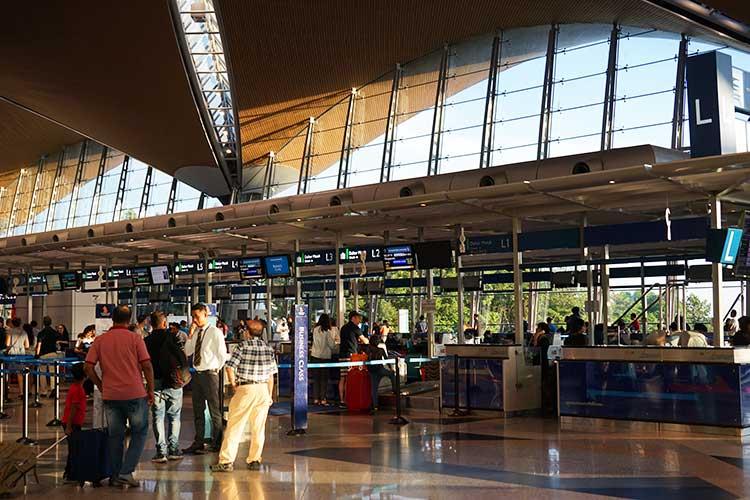 クアラルンプール空港チェックイン