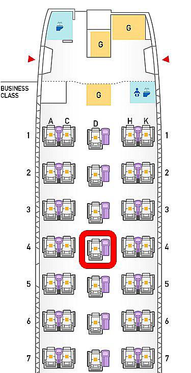 a 767-300 seatmap