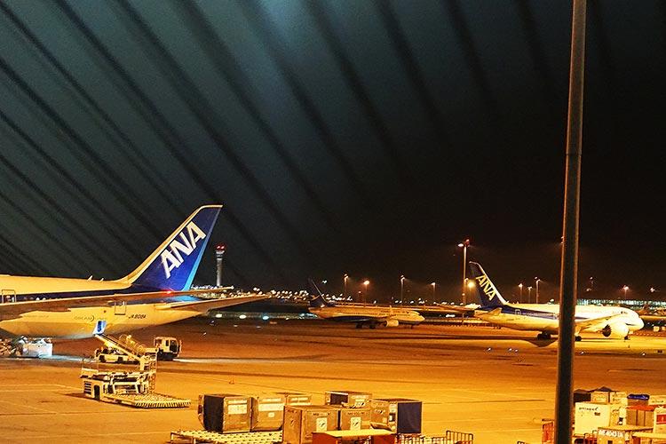 クアラルンプールのANA機