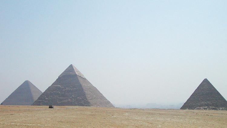 カイロ発券 ピラミッド