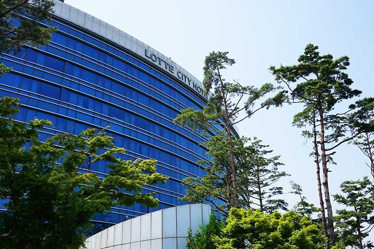 ロッテシティホテル金浦空港 外観