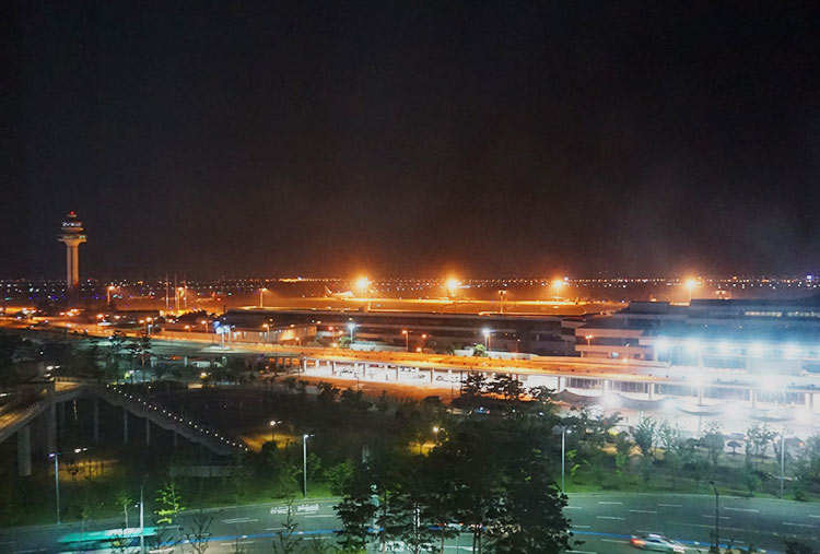 ロッテシティホテル金浦空港 景色