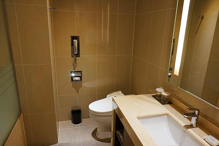 ロッテシティホテル金浦空港 トイレ