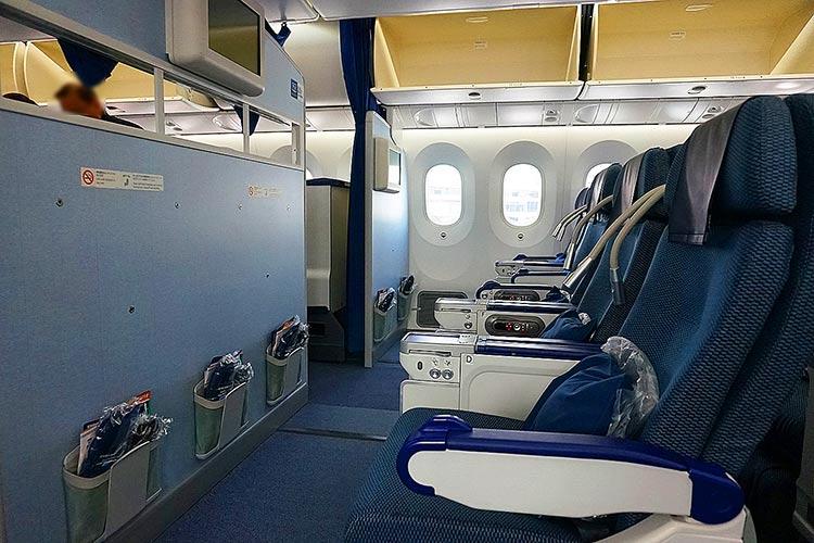 ANA 787-9 プレミアムエコノミー シート