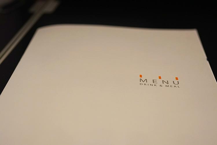ANA ビジネスクラス 機内食 メニュー