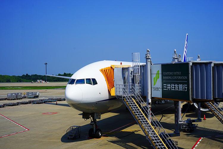 ANA B777-300ER 成田空港