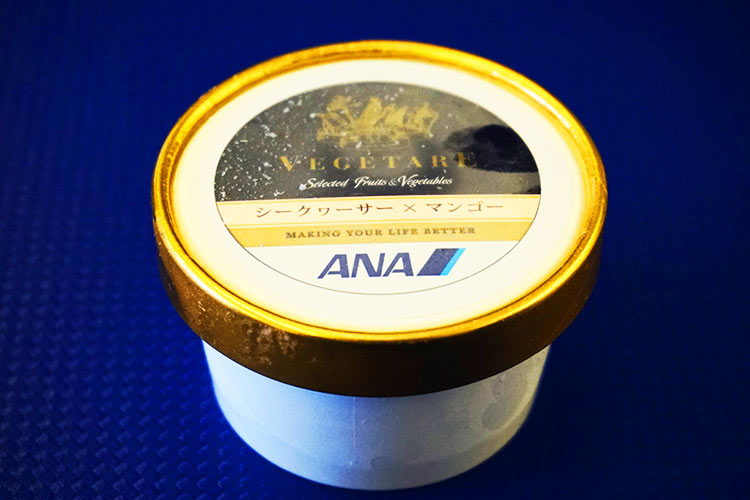 ANA プレミアムクラス アイスクリーム