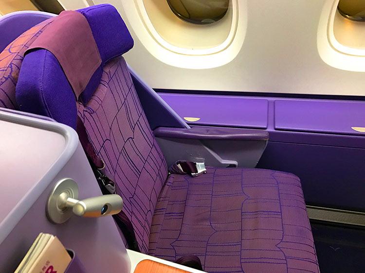 タイ国際航空 A380 ビジネスクラス