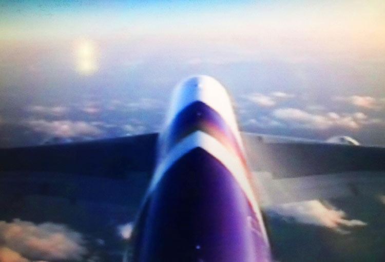 タイ国際航空 外部カメラ