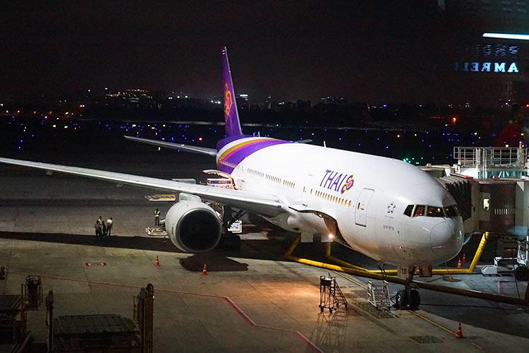タイ国際航空B777-200