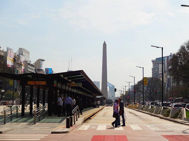 ブエノスアイレス市内