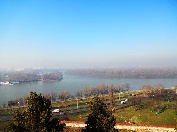 ベオグラード ドナウ川