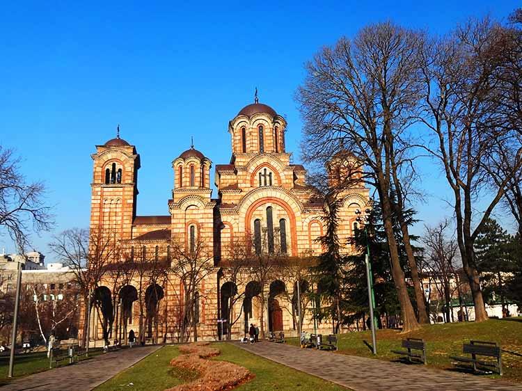 ベオグラード マルコ聖堂