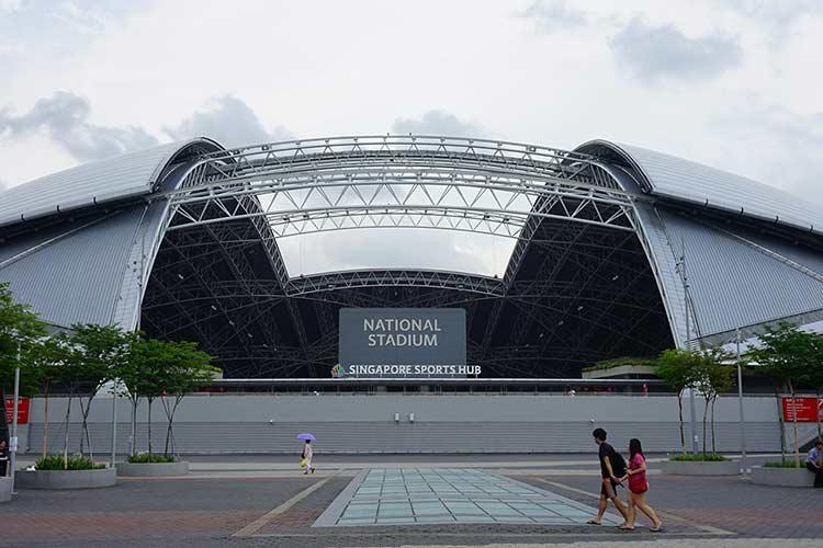 シンガポール スタジアム