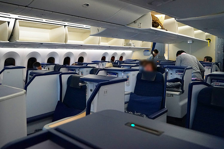 787-9 ビジネスクラス