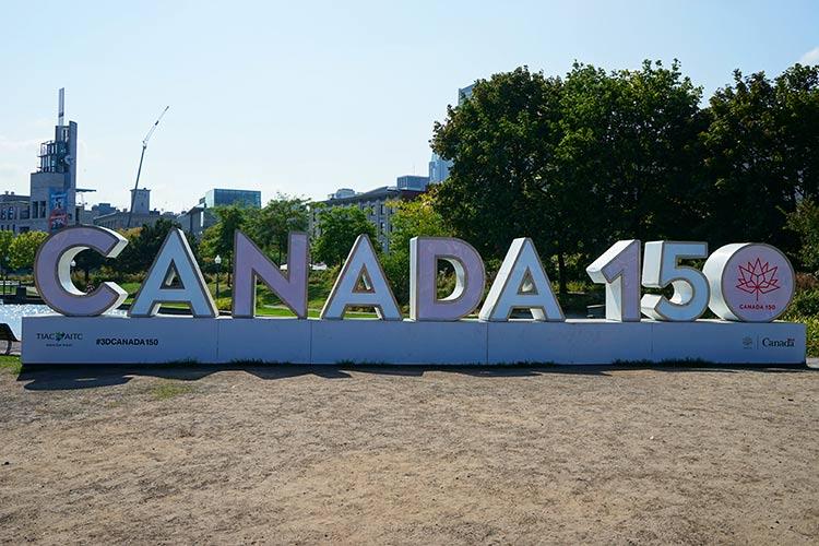カナダ150年