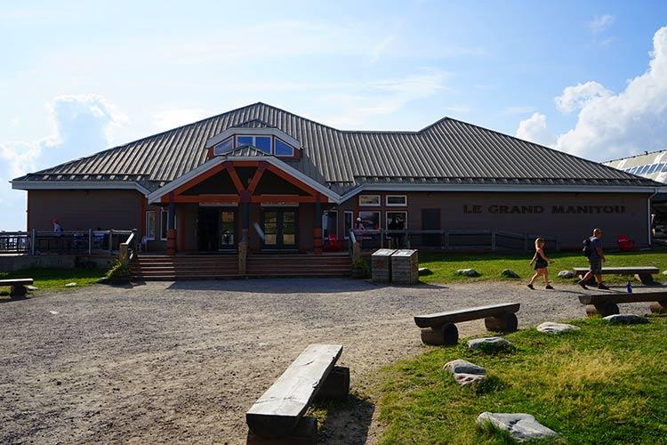 山頂レストラン