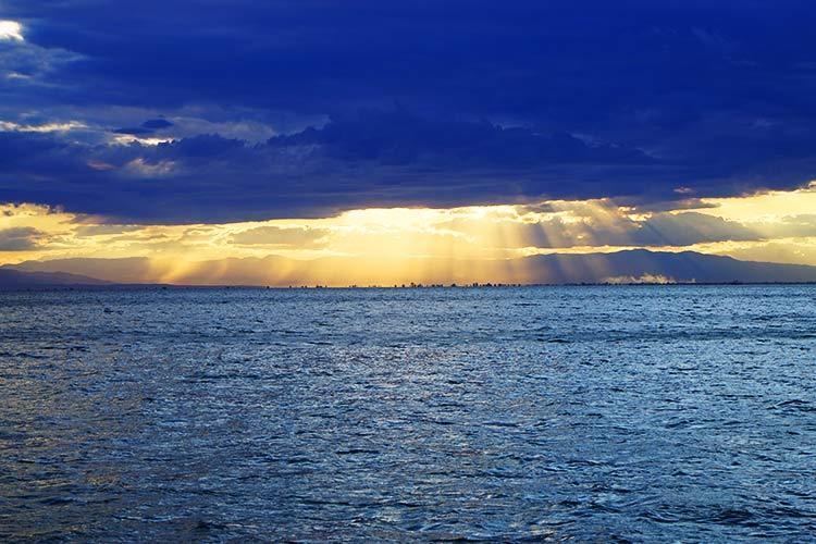 海岸の景色