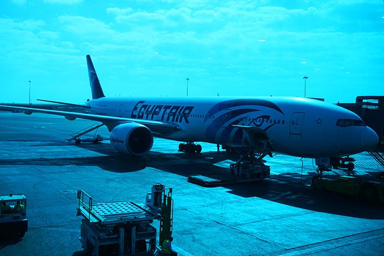エジプト航空B777-300ER