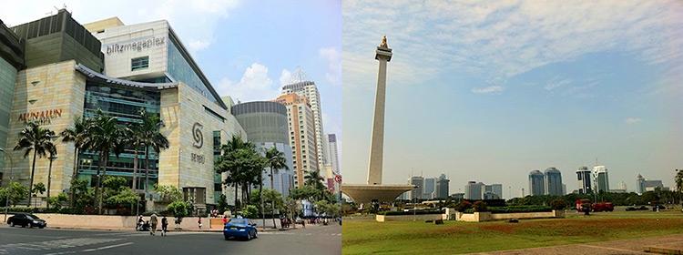 ジャカルタ市内