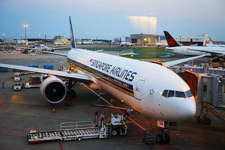 シンガポール航空777-300ER