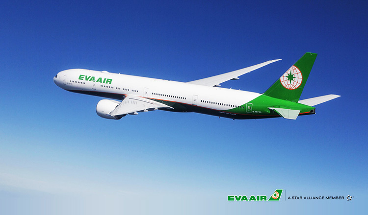 エバー航空ボーイング777-300ER