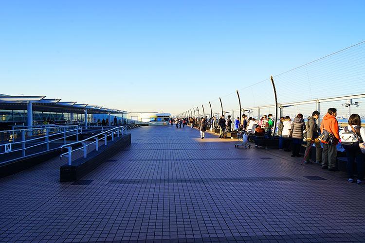 羽田ターミナル2オープンデッキ