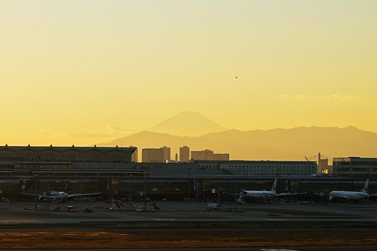 富士山 羽田