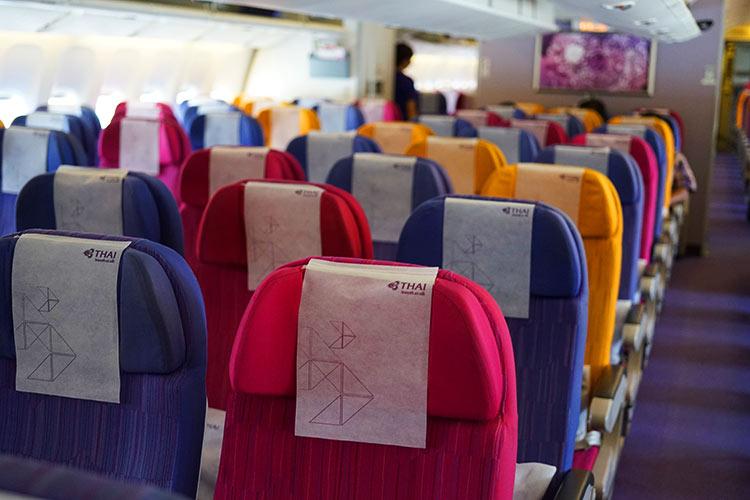 タイ国際航空エコノミークラス