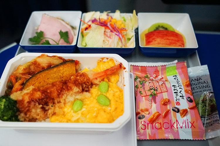 ANA エコノミー機内食 和食