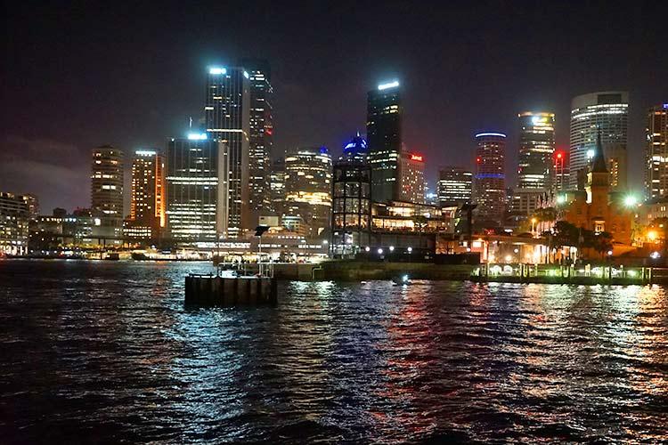 2017年のシドニーの夜景