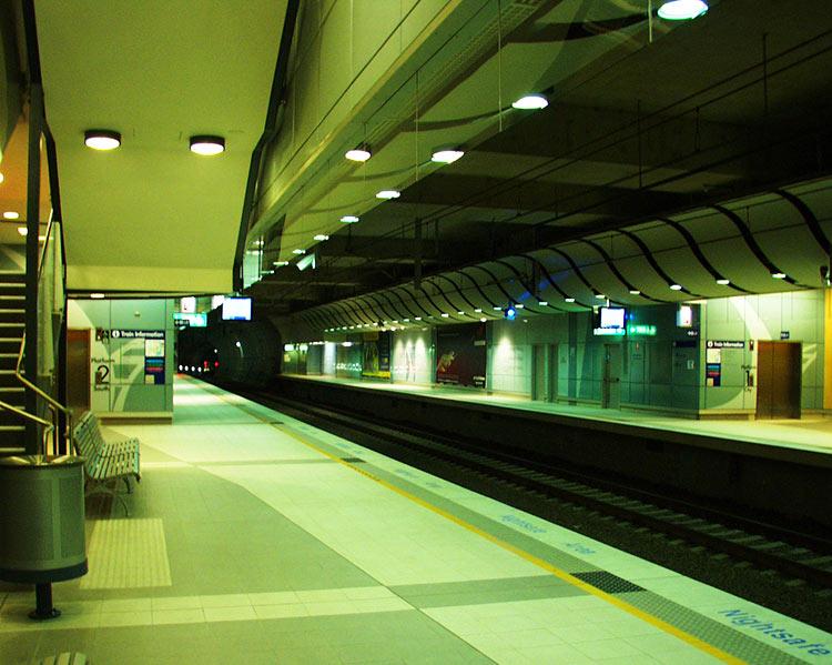 2000年のシドニー国際空港駅