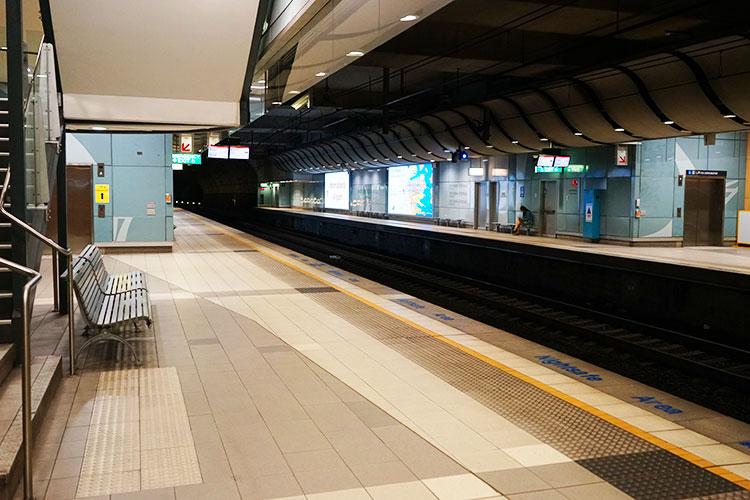 2017年のシドニー国際空港駅