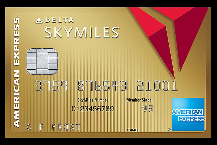 デルタ・スカイマイル・アメリカンエキスプレスカード