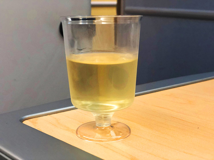 ウェルカムシャンパン