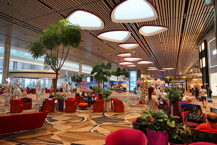 チャンギ空港ターミナル4 ラウンジ