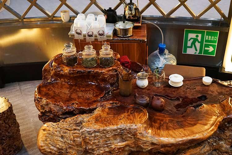 茶房コーナー