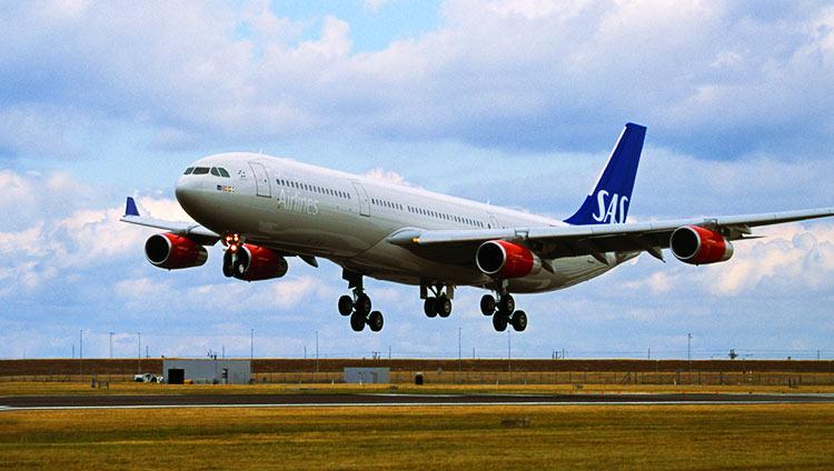 スカンジナビア航空A340-300