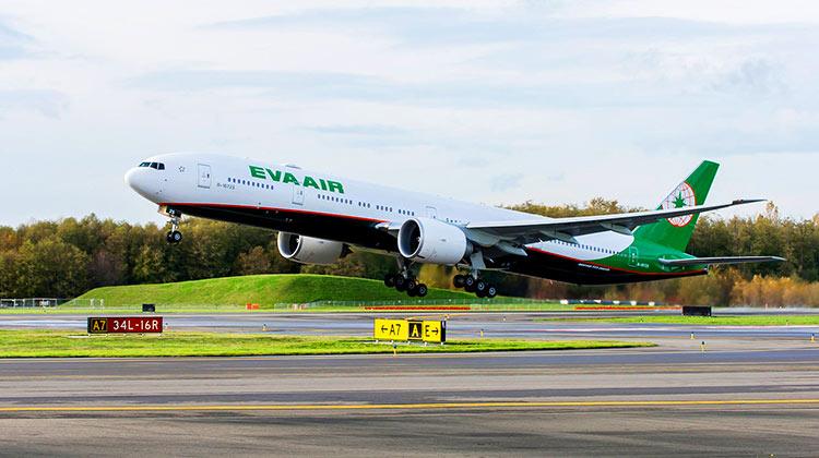 エバー航空777-300ER