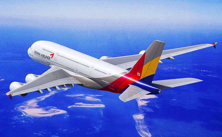アシアナ航空A380