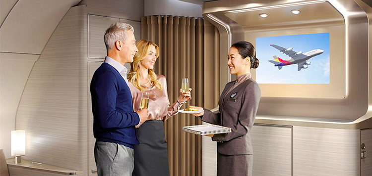 アシアナ航空ビジネスクラス