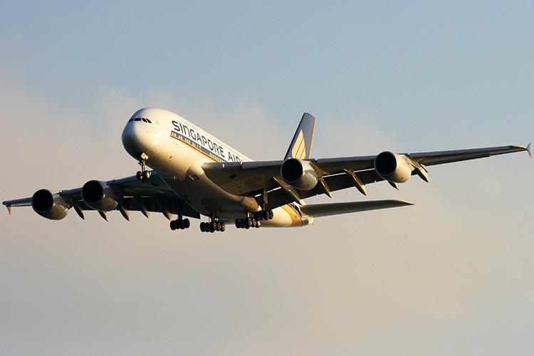 シンガポール航空A380-800