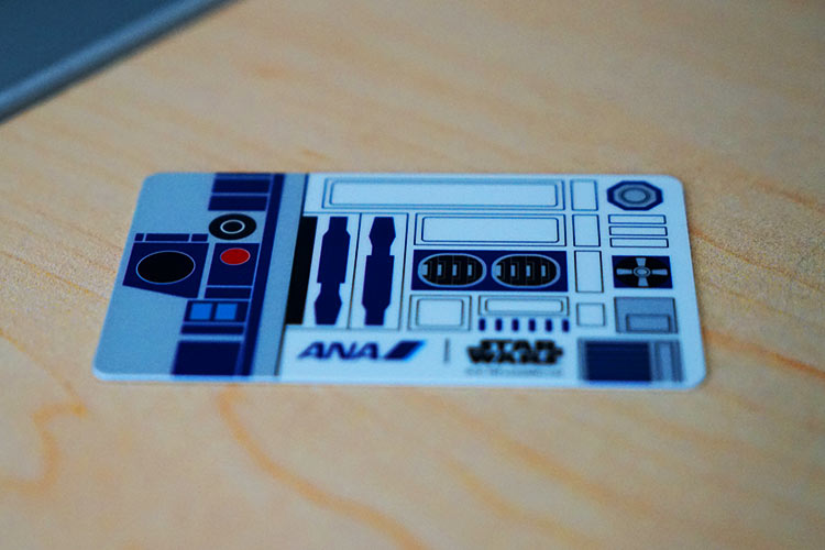 ANAスターウォーズ搭乗記念カード