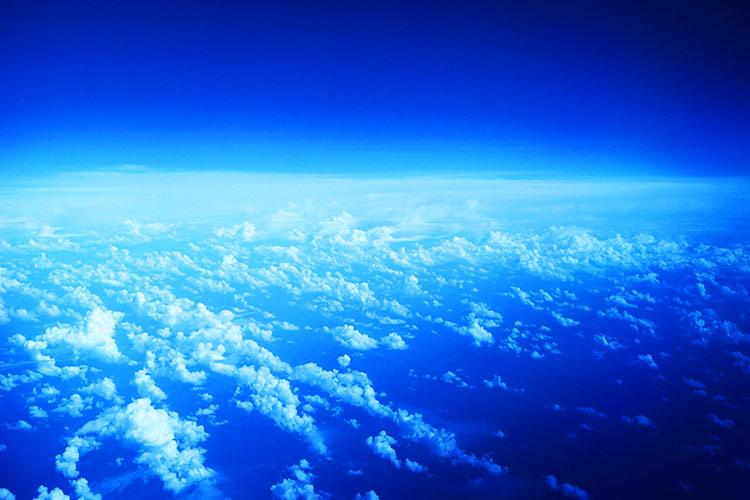 高度10000メートル上空