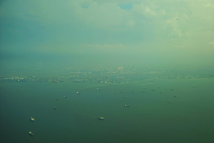 ジャカルタ湾