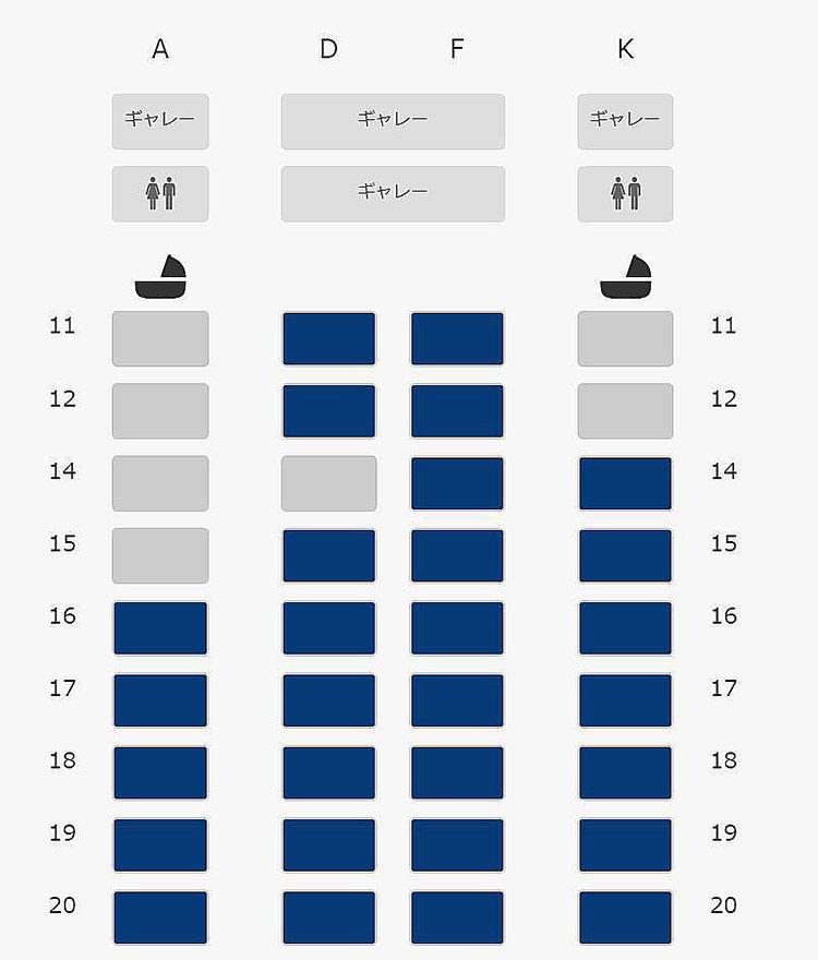 787-10シートマップ