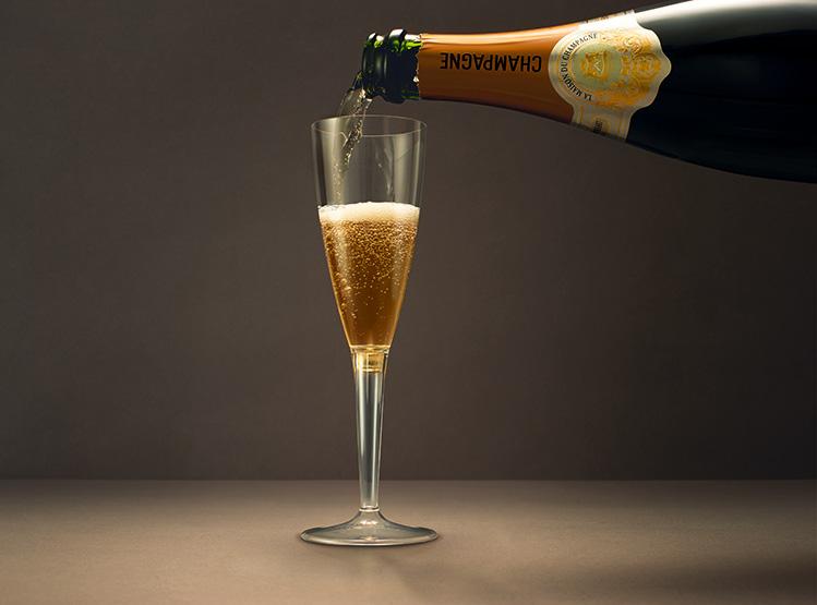 シンガポール航空シャンパン