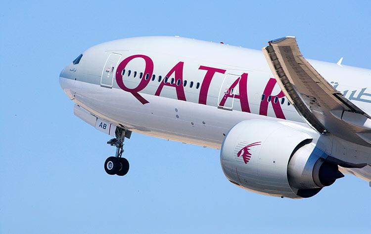 カタール航空B777