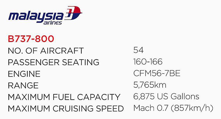 737-800スペック