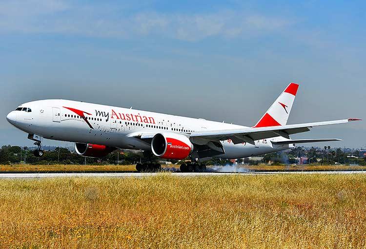 オーストリア航空777